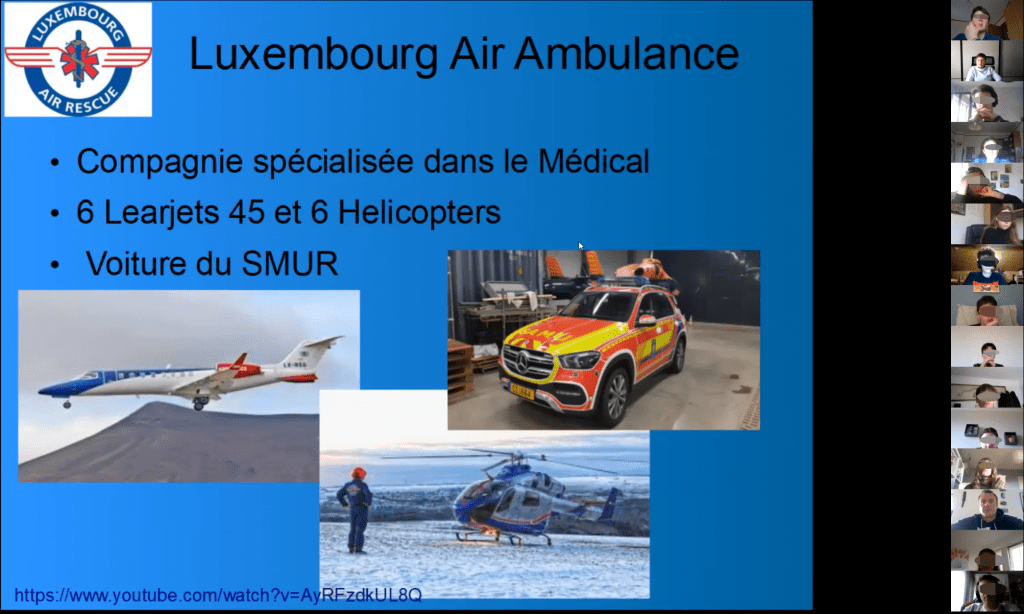 Pilote Luxembourg Air Rescue